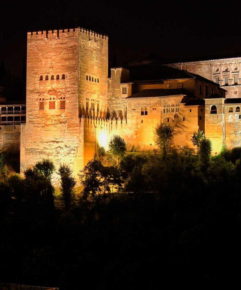 Visita nocturna Alhambra de Granada